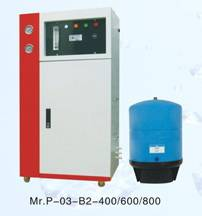 Commercial hyperfiltration water purifier