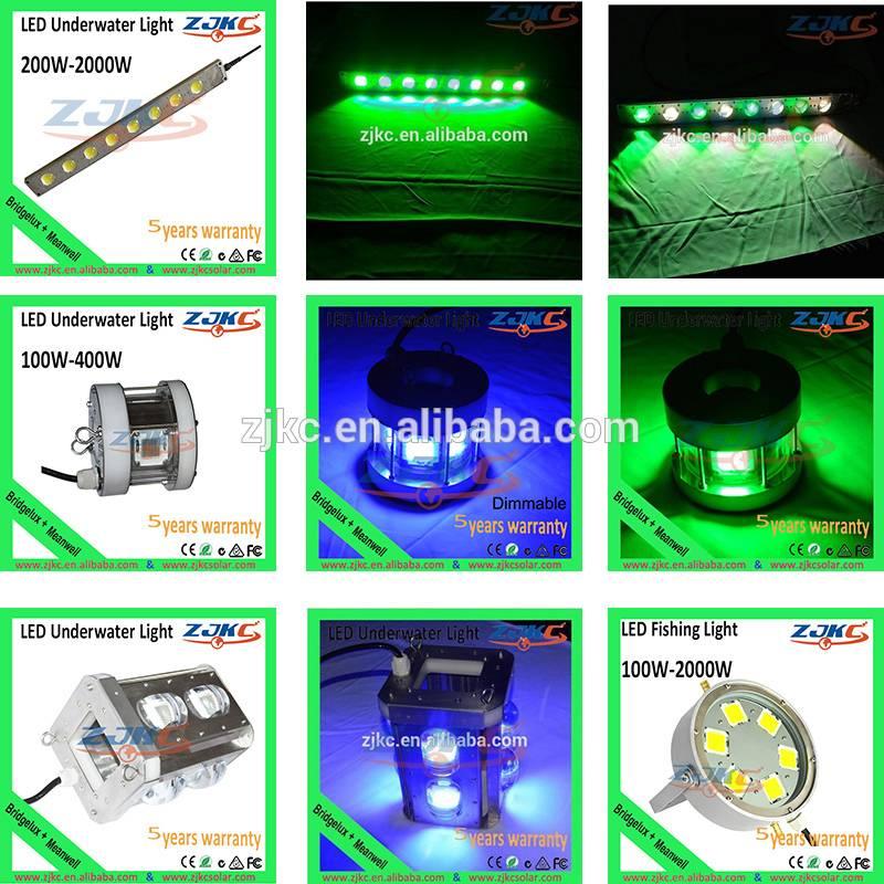 12v green led underwater fishing light squid