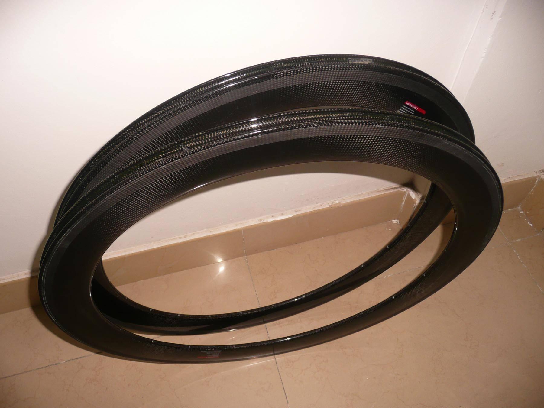 Carbon tubular rim