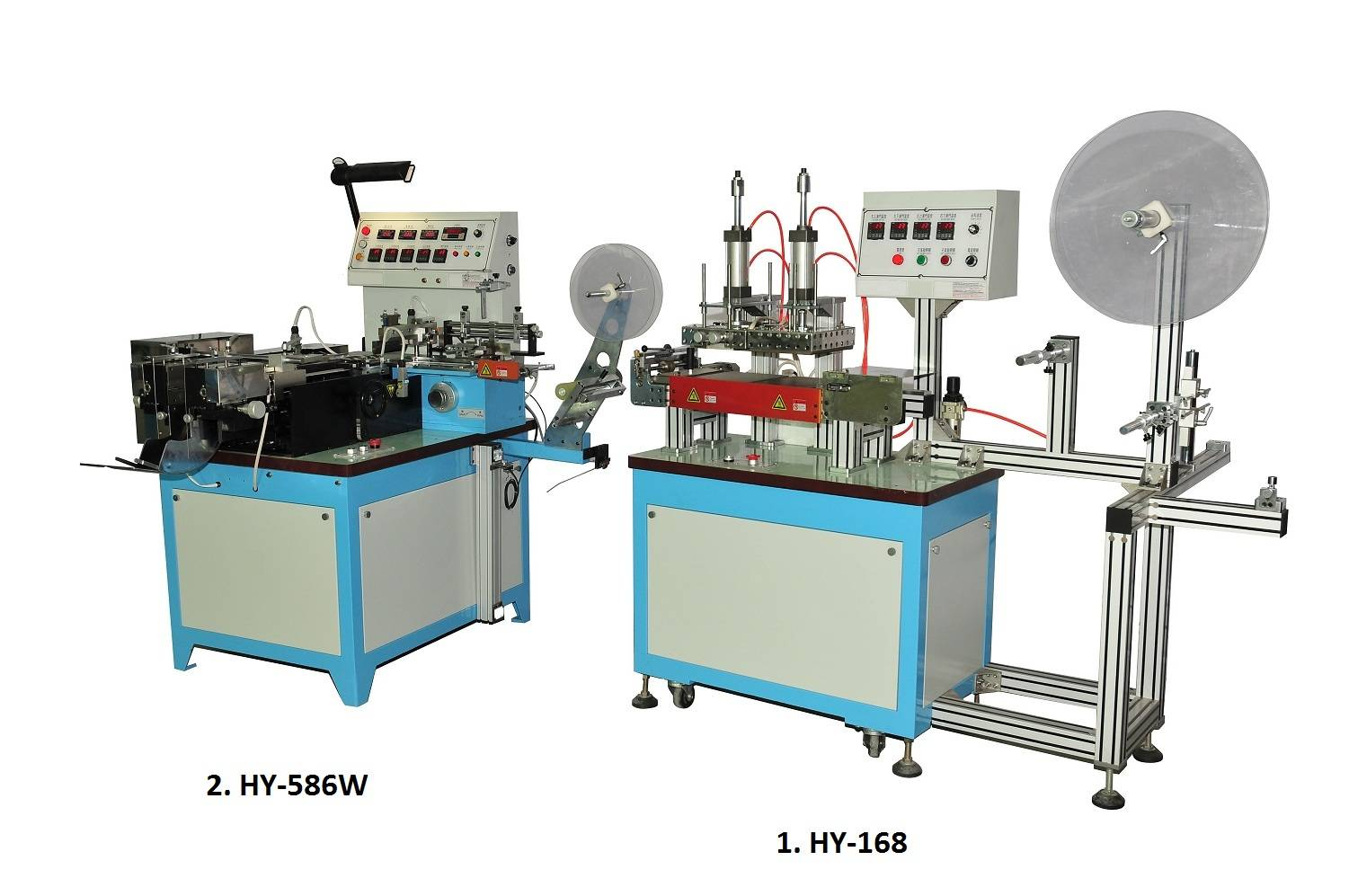 Special-Function Label Cuting and Folding Machine (HY-168+HY-586W)