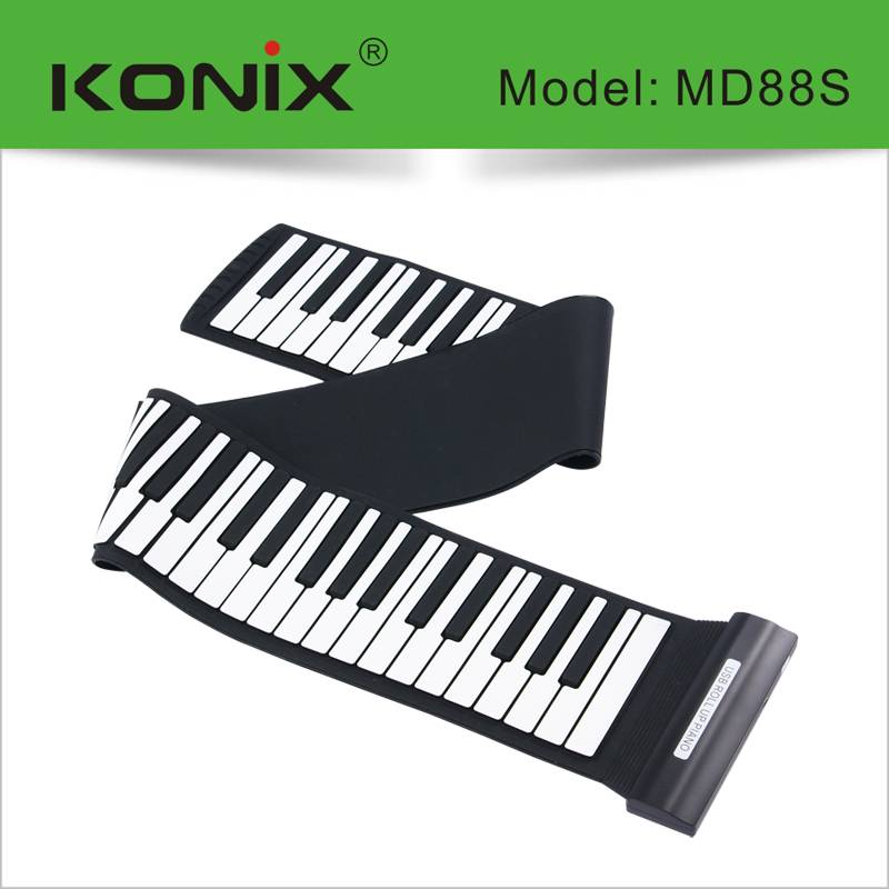 Midi Keyboard Usb Piano 88 Keys Roll Up Piano musical instrument
