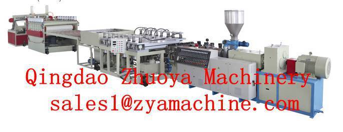 Sell PVC Furniture Board Extrusion Line