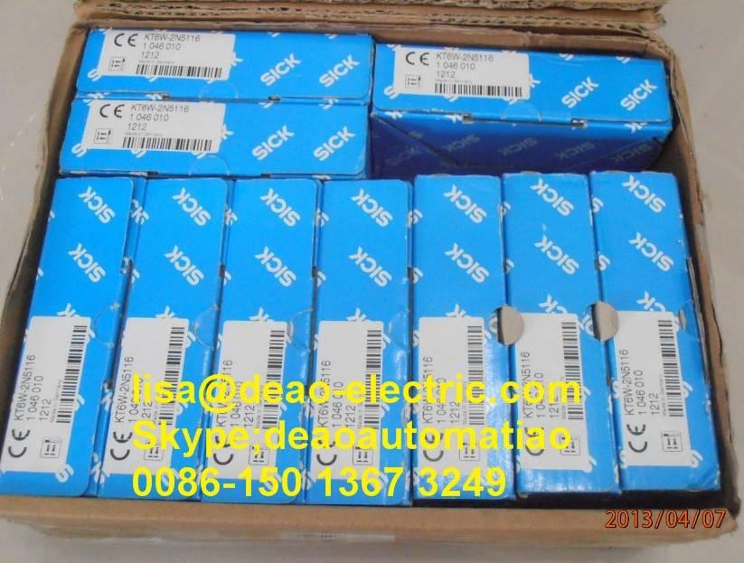 Sick photoelectric sensors KT6W-2N5116 WT12I-2P140S