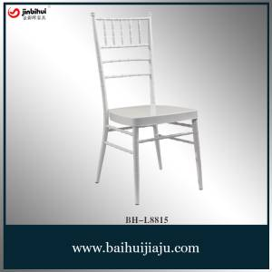 Steel Stacking Wedding Napoleon Tiffany Chiavari Chair (BH-L8815)