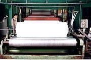 P.E Tarpaulin coating laminated extrusion machine plant