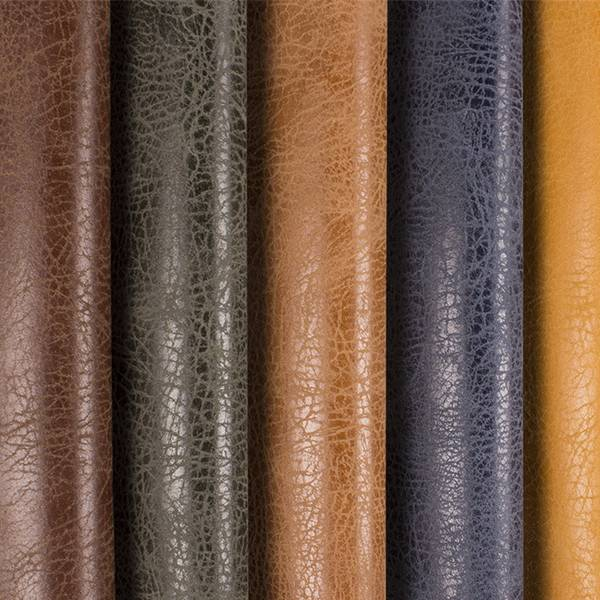 Elasticity Yangbuck PU leather for shoes and bags