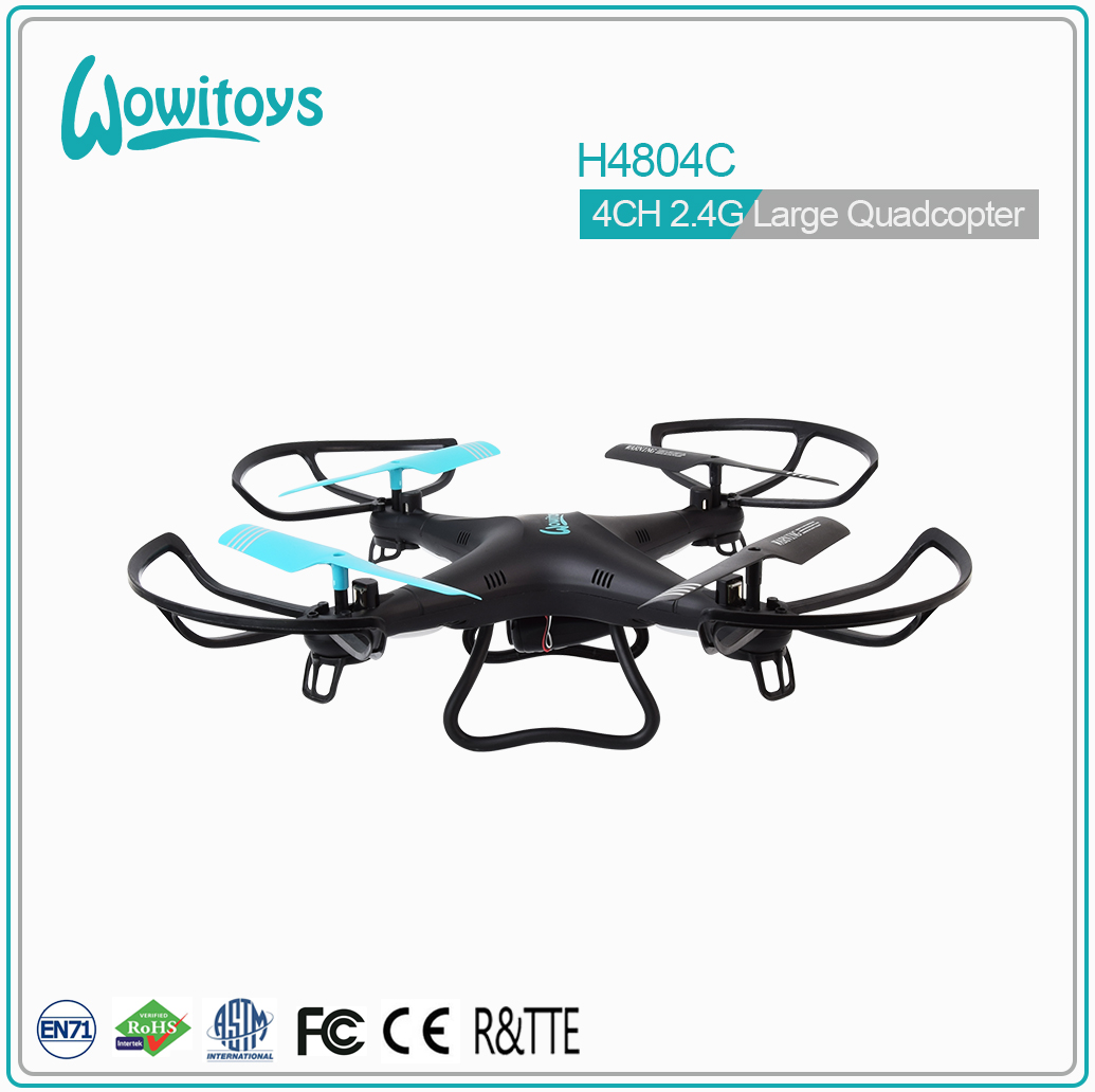 H4804WiFi WiFi quadcopter with HD camera, altitude hold, headless, auto return emergency lock