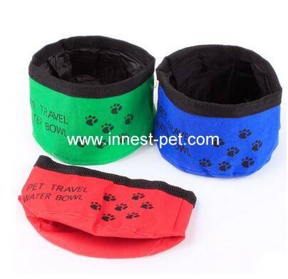Colorful Collapsible nylon Pet Bowl