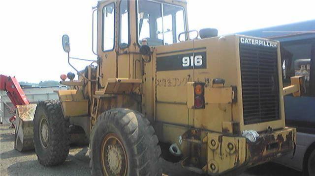 Used wheel loader cat 916, used CAT 916 loader