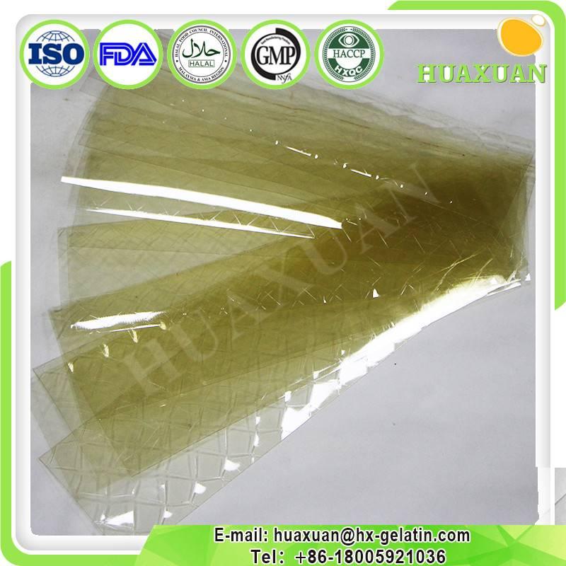 Food grade Leaf Gelatin for Bakery use Gelatin sheet