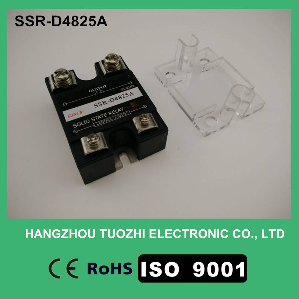 25a solid state relay 3-32vdc input 40-480vac SSR-D4825A