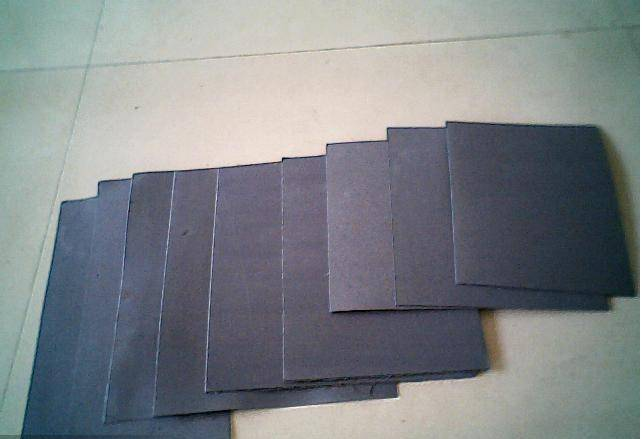 No-asbestos beater sheet/paper