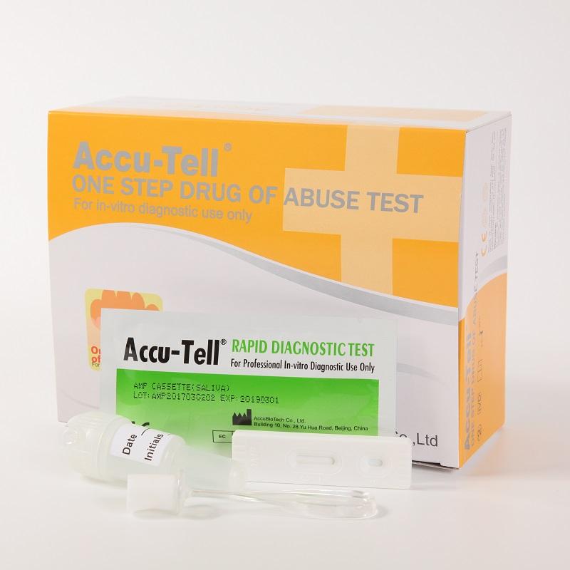 Accu-Tell®Single Drug of Abuse Rapid Test Cassette (Saliva)