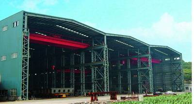 Steel Workshop for Philippines Ship