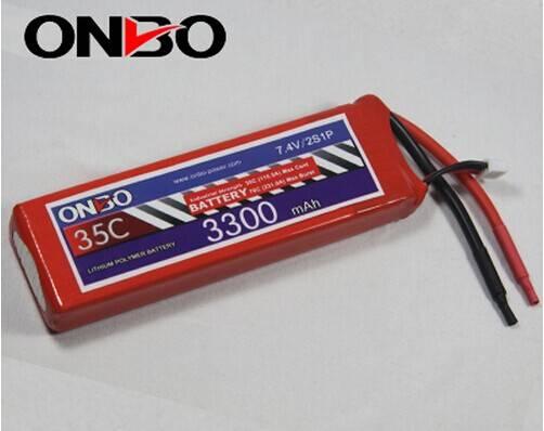 ONBO 3300mah 35c 2s 7.4v heli,car,airsoft gun batteries