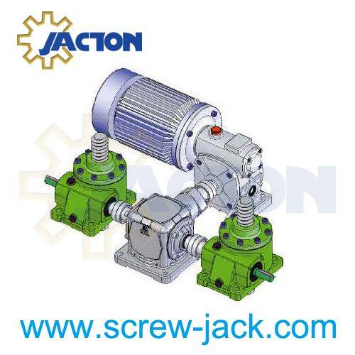lifting screws for jacking and lifting systems