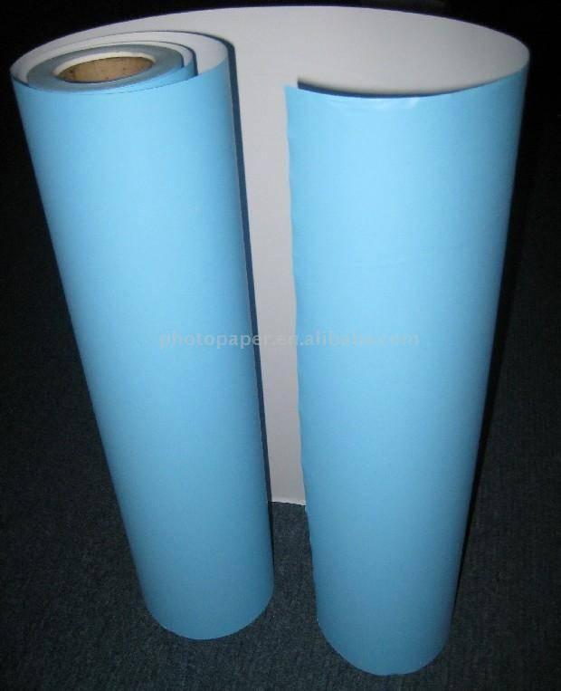 blue back paper