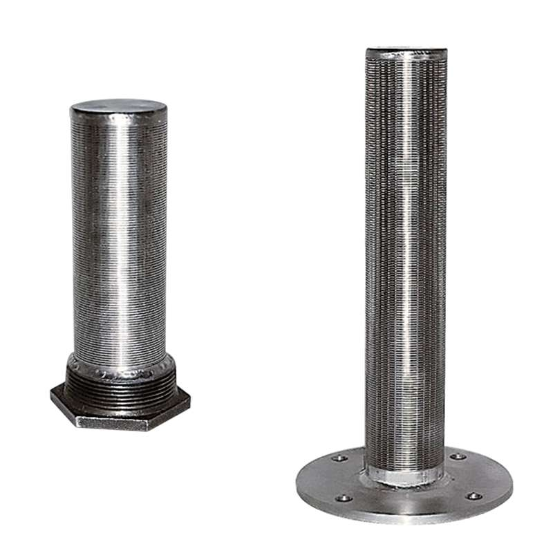 Wedge wire screen resin trap filter manufacturer