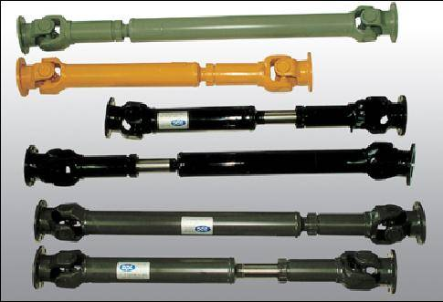 Excavator Drive Shaft Assembly