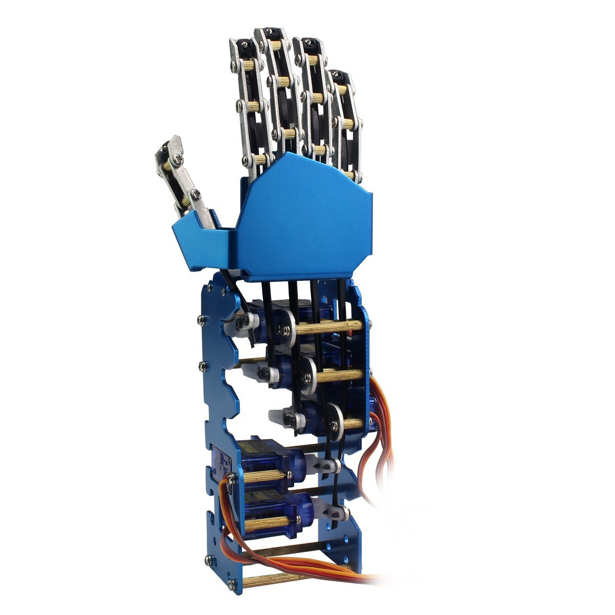 Educational Technology Equipment -5DOF Metal Robot Hand all of the construction is used by metal Han