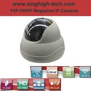 P2p Onvif 960p 1.3MP Waterproof IR IP Camera (NS6236)