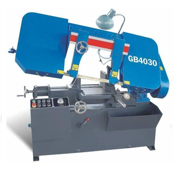 Horizontal band sawing machine GB4030