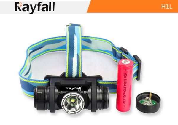 Rayfall H1LAnodized Aluminum cree XML T6 led bicycle headlight