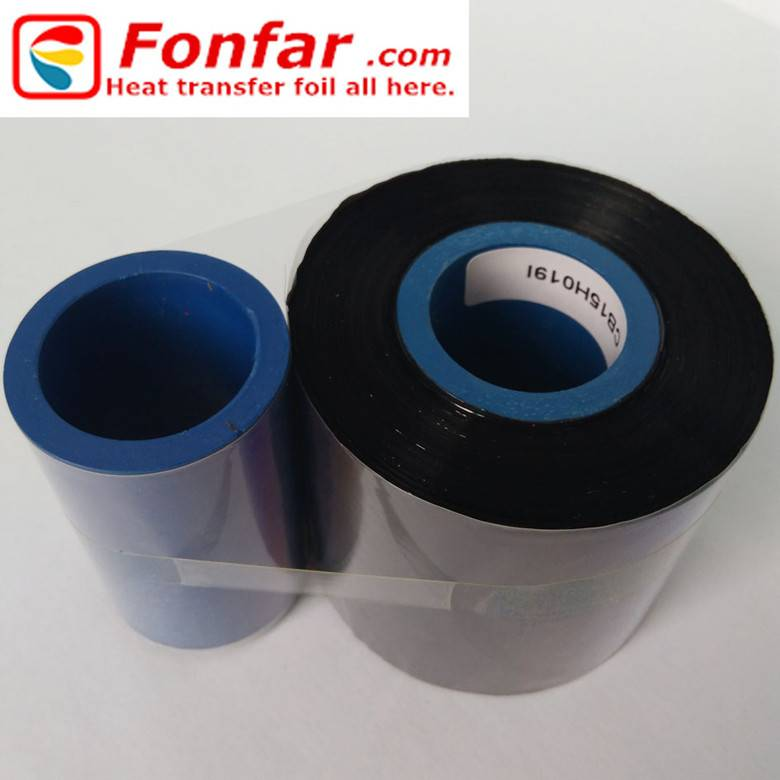 Near edge wax/resin base thermal transfer ribbon 55mm300m
