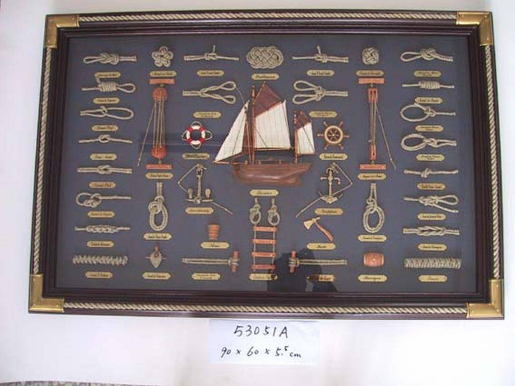 nautical wooden frame ,mirror frame, photo frame 53051A