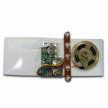 Sound Module with Speaker and Voice Chip, Suitable for Paper Card