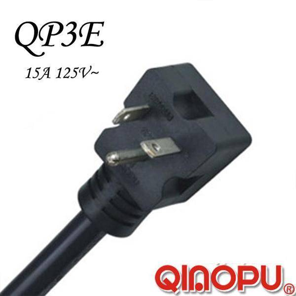 American UL/Ftl Three Pins NEMA 5-20p Power Cord (QP3E)