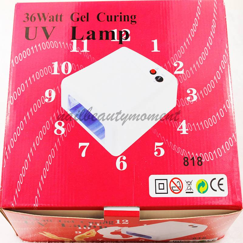 36W Manicure Nail Art UV Lamp Dryer Machine (L818)