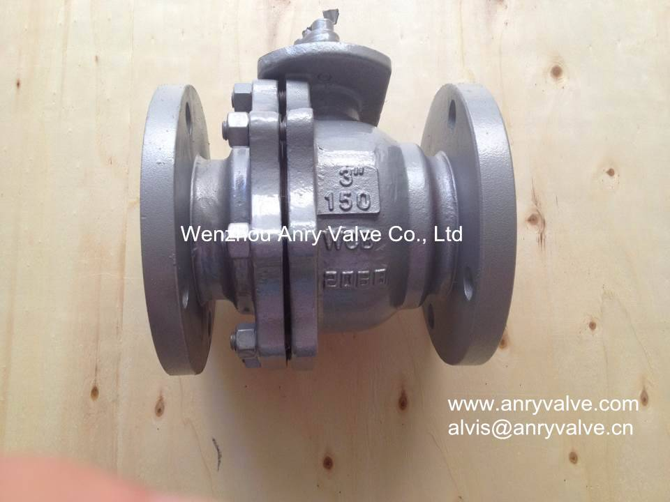 API Cast Steel Flanged Ball Valve