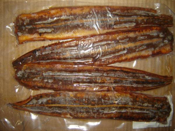 Roasted and Boiled Conger eel