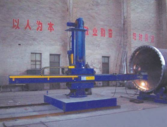 Automatic welding centre