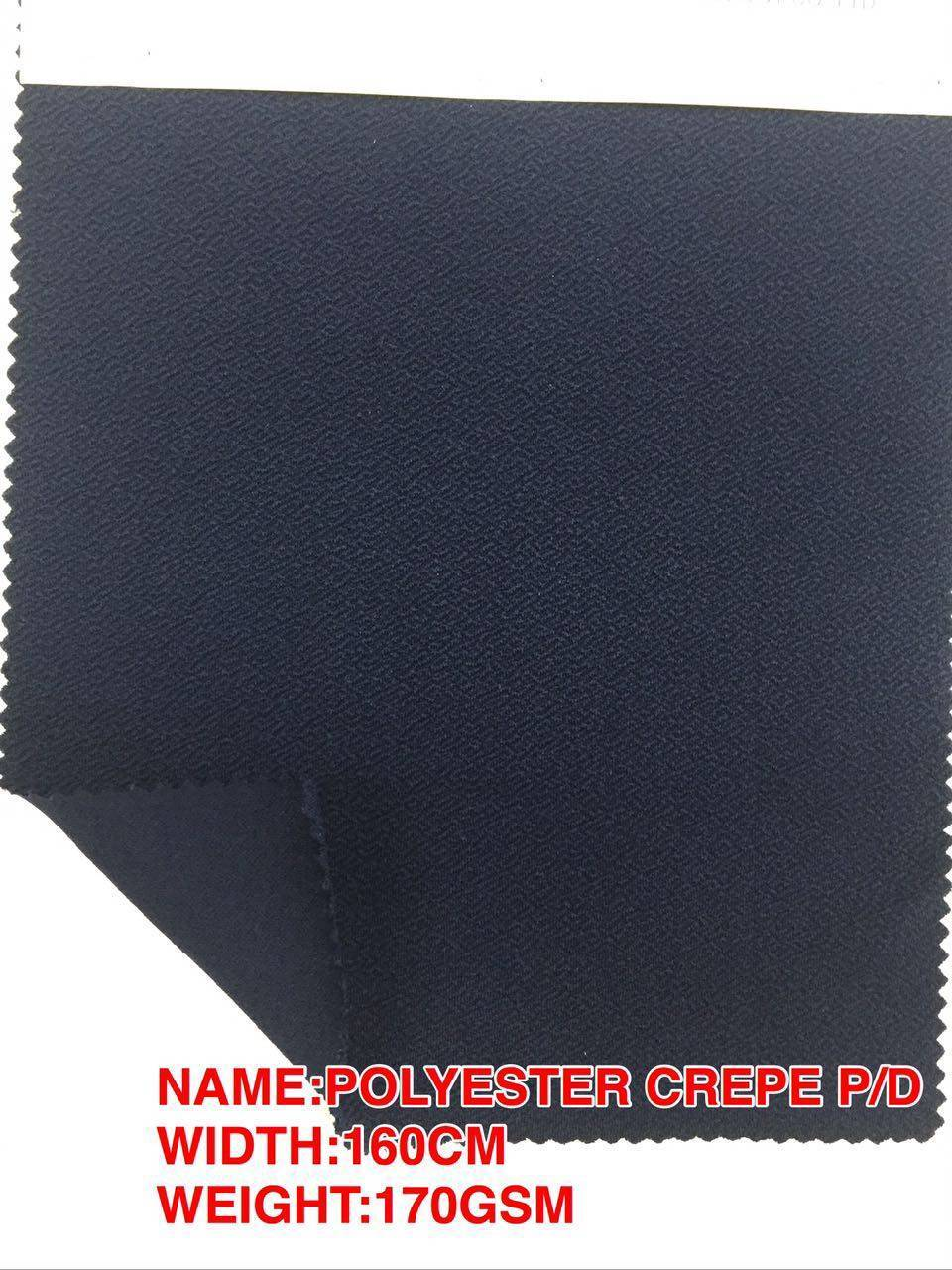 POLYESTER CREPE P/D