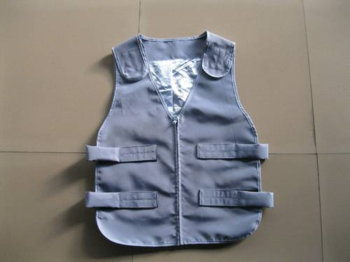 safety vest with PCM phase change material cool vest