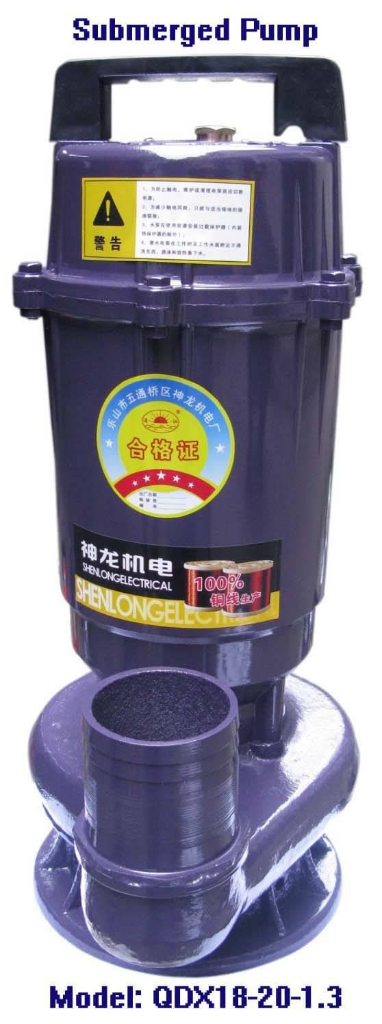 Electric Submerged Pump-QDX18-20-1.3