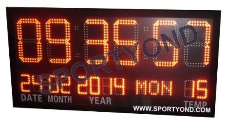 Electronic clock board