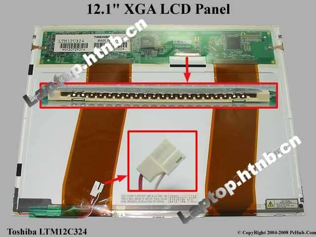 LTM12C324 TOSHIBA 12.1 XGA LAPTOP PANEL SCREEN