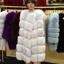 New Fashion Real Fox Fur Coat for Women
