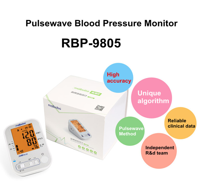 High Accuracy Standing Blood Pressure Monitor With Big Screen A Blood Pressure Monitor