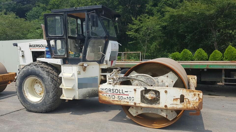 Ingersollrand 10 Ton Roller