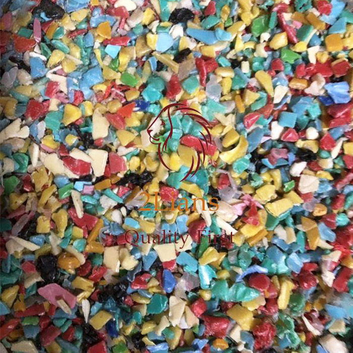 Mixed Color HDPE Regrind Injection Grade