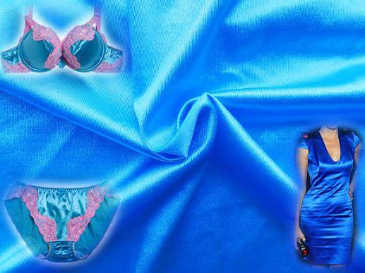Bright Shinny Satin Fabric For Underwear Night wear