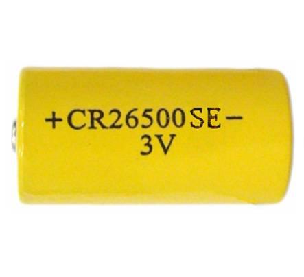 CR26500SE 6000mAh 3.0V LiMnO2 primary battery