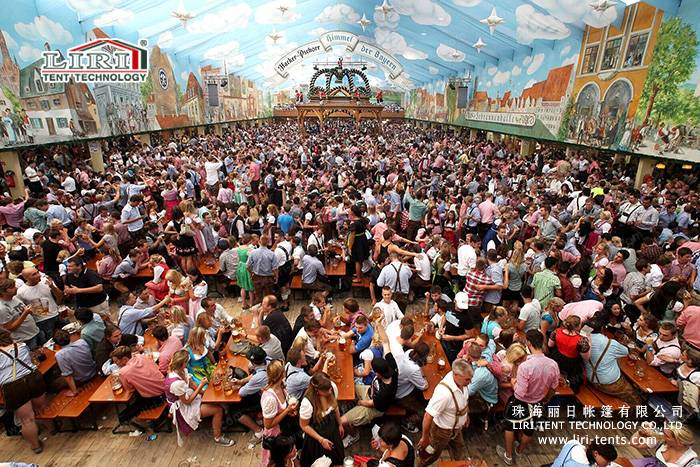 5000 People Big Beer Festival Tent for Promotion