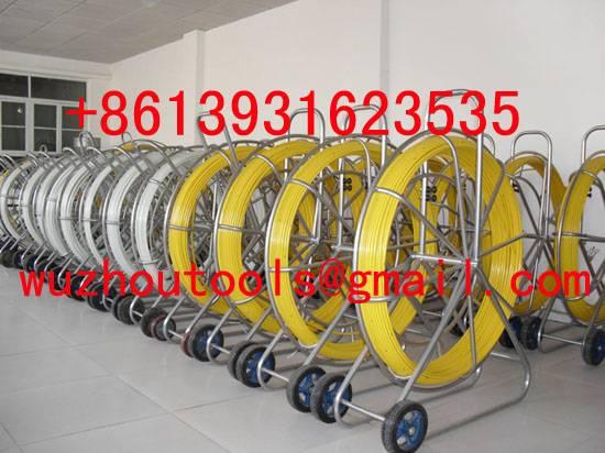 frp duct rod, Fiberglass rod,Fiberglass conduit rod reel,CONDUIT SNAKES