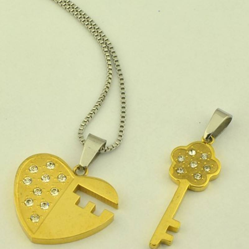 Fashion Jewelry Stainless Steel Lover's Pendant (DP4456)