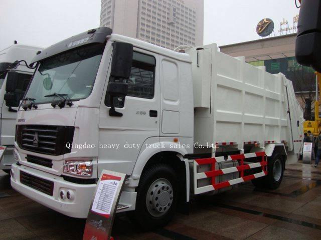 Garbage truck Sinotruk howo truck